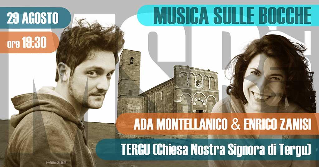 Ada Montellanico e Enrico Zanisi   Tergu