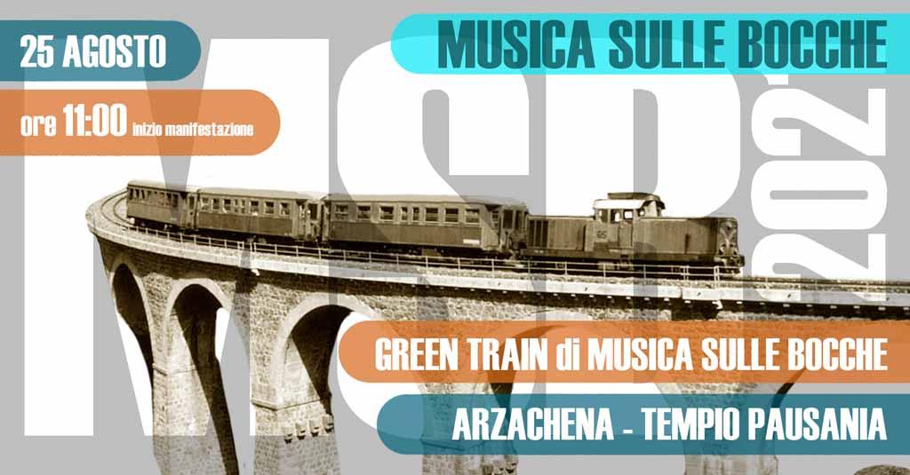 Green Train di Musica sulle Bocche 2021 | Arzachena-Tempio Pausania