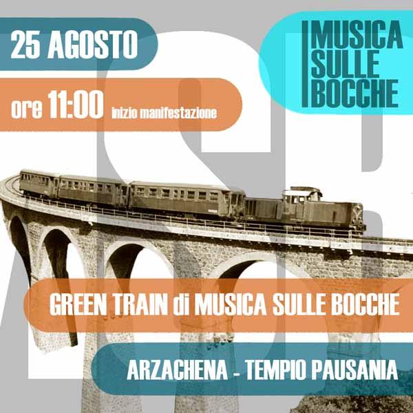 GREEN TRAIN DI MUSICA SULLE BOCCHE