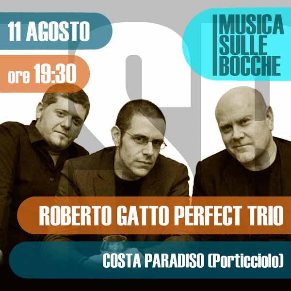 Roberto Gatto Perfect Trio | Costa Paradiso