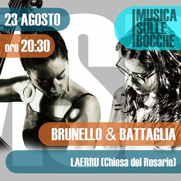 Rosa Brunello e Camilla Battaglia | Laerru